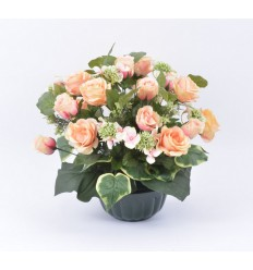 COUPE HORTICOLE 21 ROSE BOUTON HORTENSIA