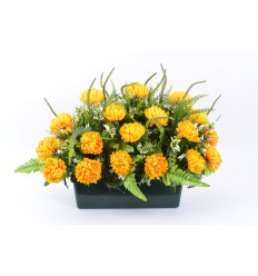 J40 CHRYSANTHEME BOULE MINI X25 (2PIQUETS) ASSORTI