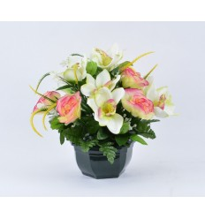 OCEA 17 CM ORCHIDEE ROSE ASSORTI