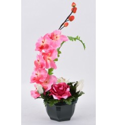 OCEA 15 CM ROSE ORCHIDEE PURPLE