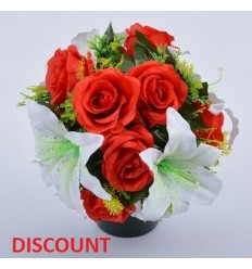 POT DISCOUNT ROSE ET LYS COLORIS ASSORTIS