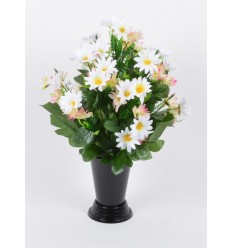 BOUQUET DE VASE DAISY ASSORTI