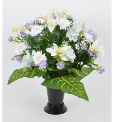 BOUQUET DE VASE ORCHIDEE MINI DALHIA ASSORTI