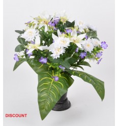 CONE + PIED DISCOUNT ORCHIDEE MINI DALHIA ASSORTI
