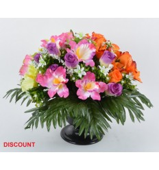 COUPE/PIED DISCOUNT ROSE ORCHIDEE ASSORTI