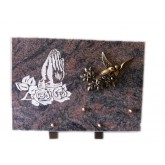 PLAQUE DECOR SABLE 25X35